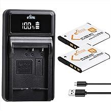 Pickle Power NP-BN1 Batteries and Battery Charger Replacement for Sony Cyber-Shot DSC-W800 DSC-W530 DSC-W570 DSC-W650 DSC-...