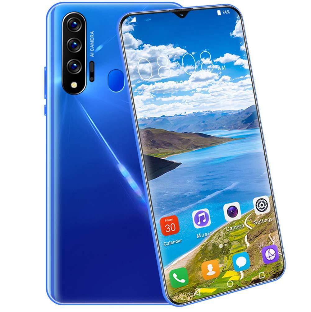 STMMXM Nowa6 Pro Smartphone Huella Digital Verdadera Red 4G, 5GTeléfono Móvil Pantalla De 6,5 Pulgadas HD + 1440 * 3040 Reconocimiento Facial Teléfono: Amazon.es: Electrónica
