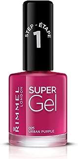 Rimmel London, Super Gel, 25 Urban Purple, 12 ml