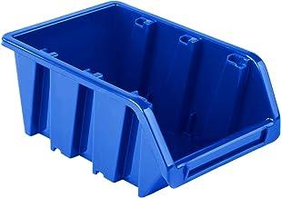 Stapelbox - 70x100x155 mm NP6 blauw kleur - opslagboxen opslagbakken stapelcontainer sorteerbox