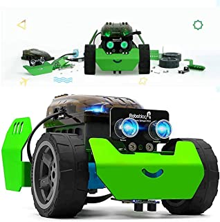 STEM Robot Kit - DIY Mechanical Building Robotic Coding Kit with Remote Control for Kids Teens, Robobloq Q-Scout Education...