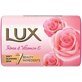 Lux Soft Touch French rose and vitamin E, 150g (Pack of 3)(Offer Pack)