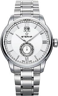 Eterna - adventic Reloj para Hombre Analógico de Cuarzo Suizo con Brazalete de Acero Inoxidable 2971.41.66.1704