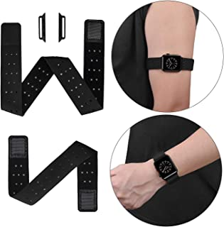 Euler Elastic Sport Loop Armband and Wrist Band 2 Watch Bands Companion 42mm 44mm Compatible with Apple Watch Band for iWatch Series 5 4 3(42/44mm)