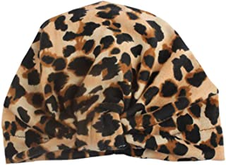 Baby Girls Leopard Turban Hats,Leopard Printed Turban Hats,Baby Bows Head Wraps,Headband for Baby Girl,Top Knot Hats