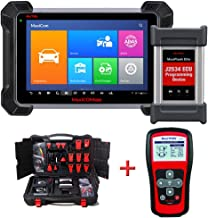 Autel (Maxisys Pro) MK908P Automotive Diagnostic Scan Tool Advanced Full System Scanner with ECU Coding and J2534 ECU Programming With TS401 (Renewed)