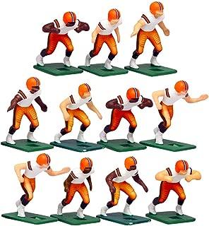 Cleveland BrownsAway Jersey NFL Action Figure Set