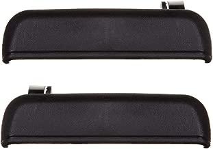 INEEDUP Door Handles Replacement for 1995-1998 Toyota Tercel Exterior Rear Left Right Side Texture Black(2pcs)