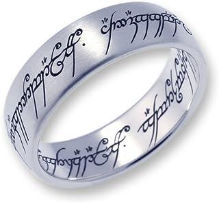 Herr der Ringe Il Signore degli Anelli - La Un Anello - Titanio