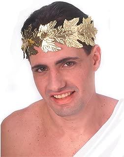 Rubie's Costume Men's Novelty Gold Foil Roman Wreath