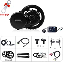BAFANG 48V 750W Mid Motor Drive System Electric Bike Conversion Kits with Optional LCD Display and BBS Installation Wrench as a Gift