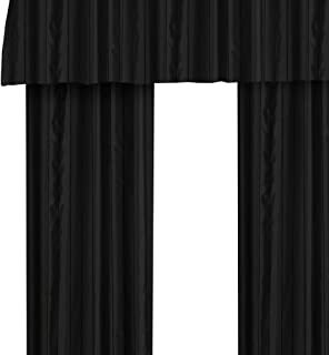 Veratex MADE IN THE USA Braxton 84-Inch Grommet Panel, Black