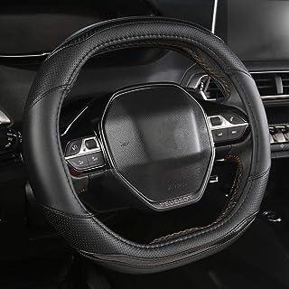 YHDNCG Lenkradabdeckung, Für Peugeot 508 30 4008 5008