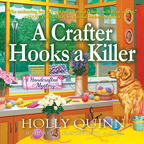 A Crafter Hooks a Killer audiobook cover art