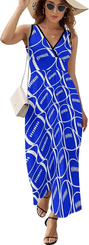 Women's Golden Bricks Printed Wrap V Bombing new work Neck Ruffle Sleeveless Hem Inexpensive
