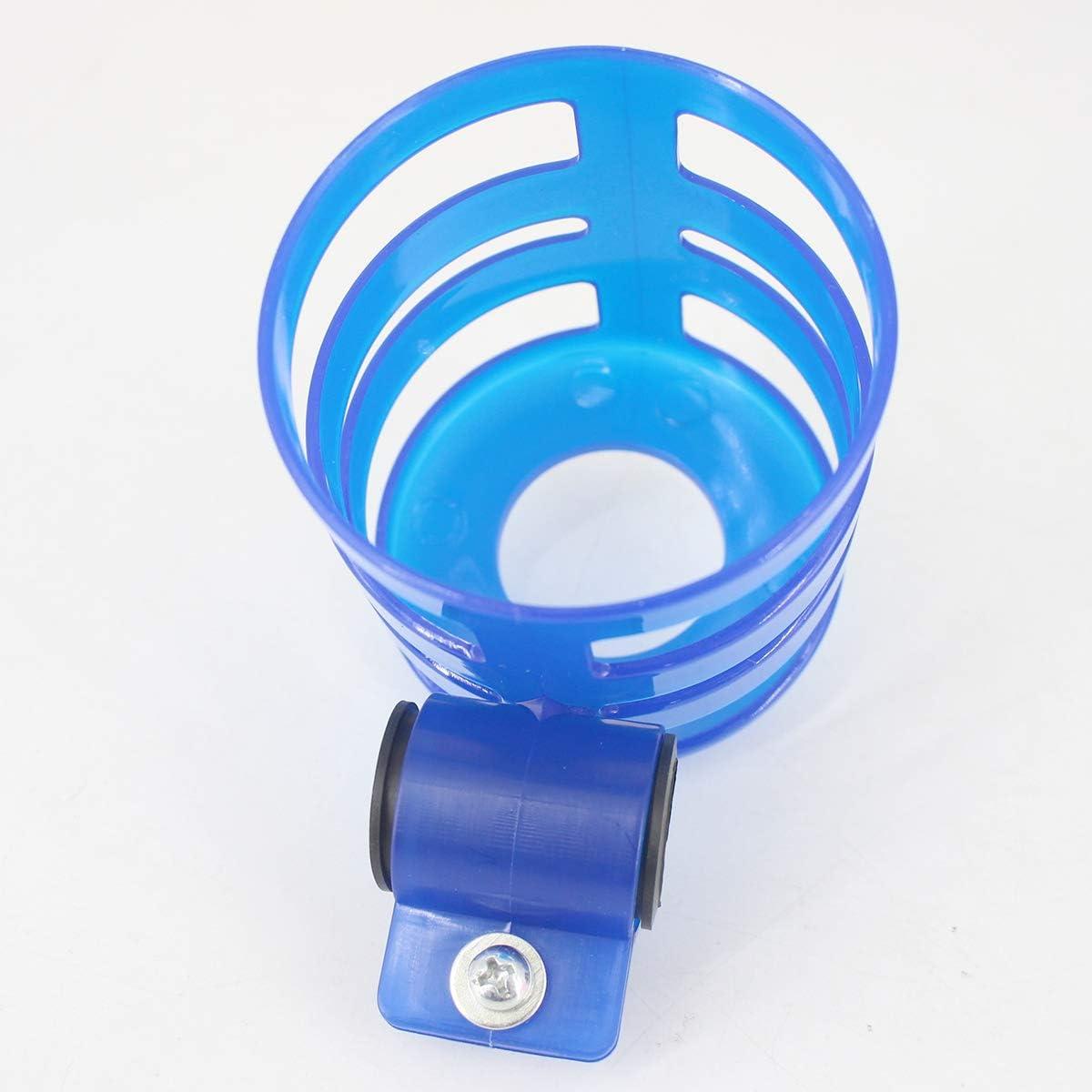 Tmtop Bike Stroller Cup Holder Universal Motorcycle Bike Handlebar Drink Cup Holder Beverage Water Bottle