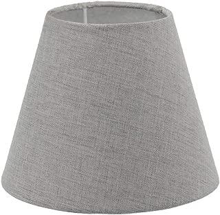 Cream Grey Herringbone Empire Lampshade Tapered Cone Lamp Shade Replacement Lightshade