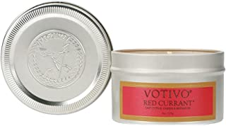 VOTIVO Aromatic Travel Tin Candle - Red Currant