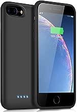 iPosible Funda Batería para iPhone 8 Plus/7 Plus/6S Plus/6 Plus 8500mAh Funda Cargador Portatil para iPhone 8 Plus/7 Plus/6S Plus/6 Plus Recargable Batería Externa Carcasa Batería [5.5 Pulgadas]