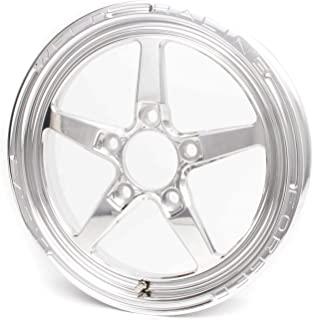 Weld Racing 88-17000 Weld Pro Drag Alumastar 2.0; 1 Piece; Size 17x2.25; Bolt Pattern Anglia; -12.573 Offset; Back Spacing 1.13 in.; Polished; Center Cap Included;