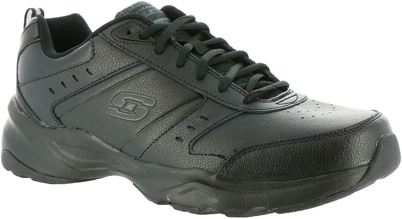 Skechers Men's Haniger Training Sneaker,Black,US 8.5 M