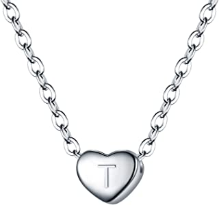 Best letter t necklace sterling silver Reviews