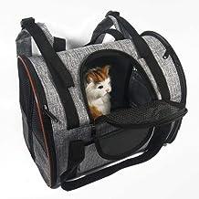 Hondendraagtas Ontworpen Voor Katten Kleine Honden Kittens Puppy's Reizen Met Huisdieren Handtas Voor Buiten Reizen Wandelen Wandelen,Brown