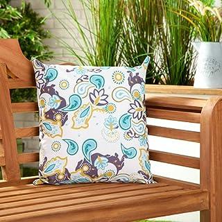comprar comparacion Gardenista Cojín Relleno Resistente al Agua y para Exteriores | Diseño con Patrones Coloridos | Accesorio para Muebles de ...