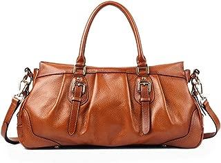 Women's Handbag 2019 Leather Shoulder Bag Fashion Simple Ladies Crossbody Bag(FM)