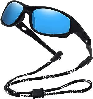Kids Bendable Polarized Sunglasses for Boys Girls Age...