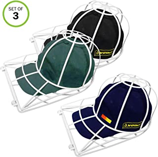 Evelots Ball Cap Cleaner-Washing Machine/Dish Washer-Trucker/Visor Hat-Set/3