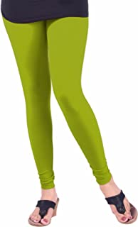 parrot green color leggings
