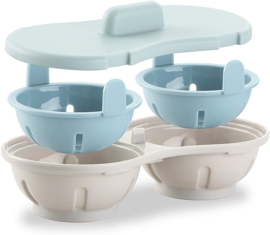 Egg Poacher Microwaveable Gift Kansas City All items in the store Mall for Mother Eggs Maker Co Poached