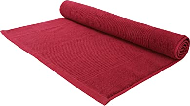 Cannon Towel Floor Mat Stripe - Red - Cn Fm50X80St, Cotton
