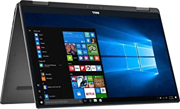 Dell XPS 9365 2-in-1 13.3in FHD Touchscreen Laptop i7-7Y75 16GB 512GB SSD Windows 10 Pro - Black (Renewed)