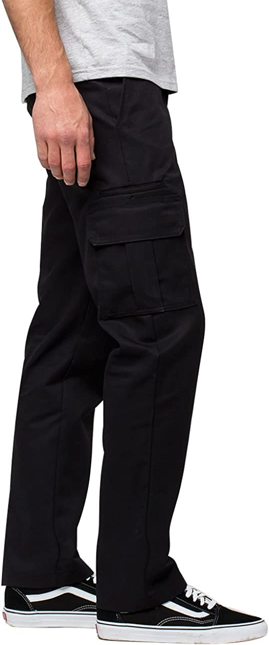 Dickies Men's Slim-Straight Stretch-Twill Cargo Pant: Clothing, Shoes & Jewelry