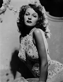 Rita Hayworth Posed with a Expressionless Face Photo Print (8 x 10)