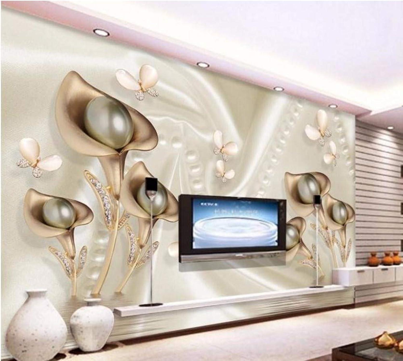 Garantía 100% de ajuste Rureng Rureng Rureng Papel Tapiz Fotográfico Personalizado Mural En 3D Metal Fresco Taste Joyería Tv Papel Tapiz De Fondo Murales Papel Tapiz-200X140Cm  artículos novedosos