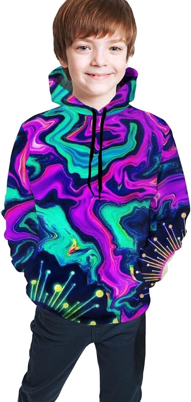 Hooded Sweatshirt for Teen Girls Boys, Hip Hop Sport Tops