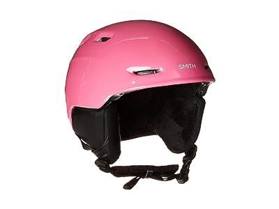 Smith Optics Zoom Junior Snowboard Helmet (Pink Skates) Snow/Ski/Adventure Helmet