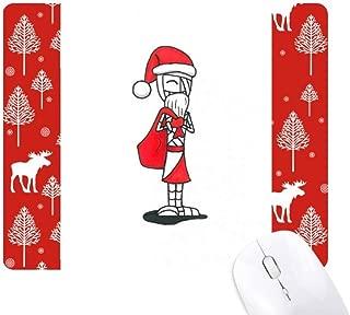 クリスマスのサンタクロースの帽子・バッグ・ホルス クリスマス森嶺