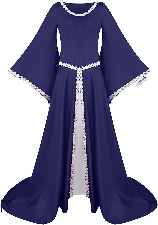 BIrty Womens Medieval Wholesale Vintage Dress Retro L Renaissance Costumes Max 83% OFF