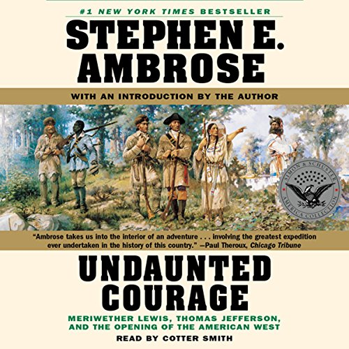 Page de couverture de Undaunted Courage