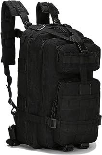 Mochila táctica militar militar de 20 a 35 l, paquete de asalto Molle Bug Out Mochila Mochilas para senderismo al aire libre, camping, escalada (17 x 9.5 x 8.5 pulgadas