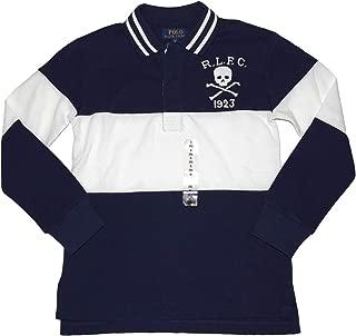 Ralph Lauren Polo Boys Long Sleeve Striped Rugby Shirt