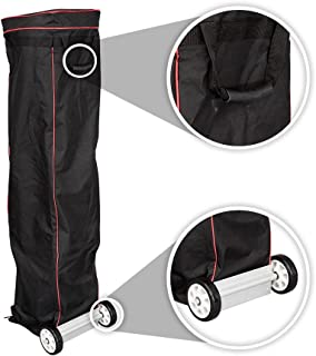 Vispronet - Universal 10x20 Canopy Bag with Wheels - Easy Pop Up Bag, Heavy Duty Wheels, Interior Storage Pockets and Straps - Design Allows for Easy Packing and Unpacking, Easy Transportation