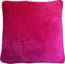 IBA Indianbeautifulart Decorative Soft Cushion Cover Classy Plain Pillow Case Throw India 18 x 18 Inches