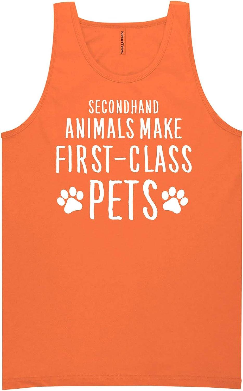 Secondhand Animals Neon Orange Tank Top - XX-Large