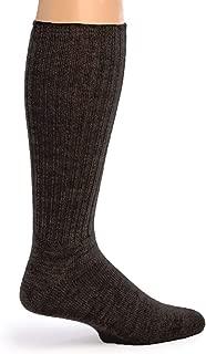 Warrior Alpaca Socks - Men's Ribbed Everyday Alpaca Wool Crew Socks