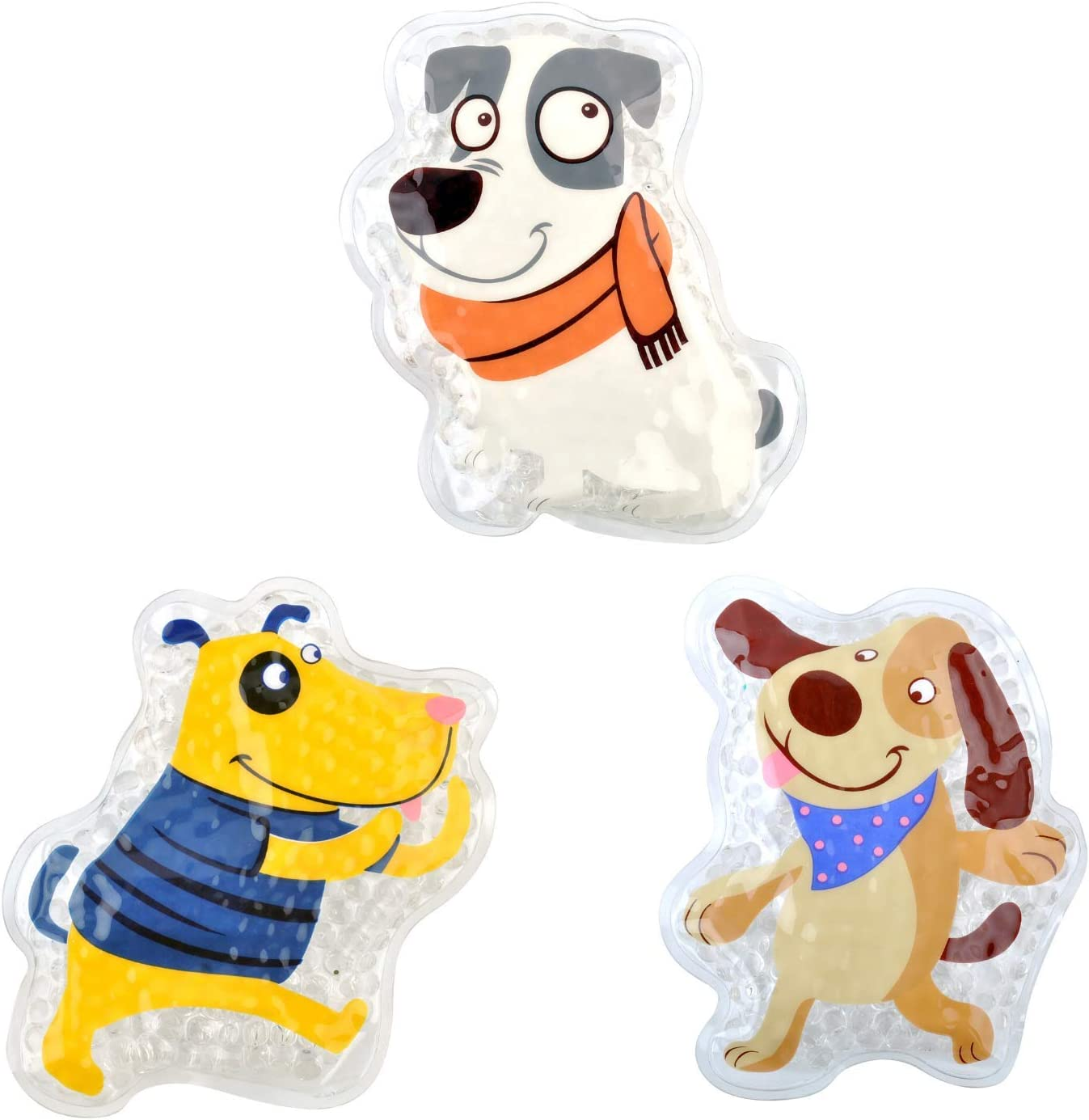 FOMI Kids Fun Pain Relieving Hot OFFicial Ice All items free shipping Boo 3-Pack Cold Packs. Boos